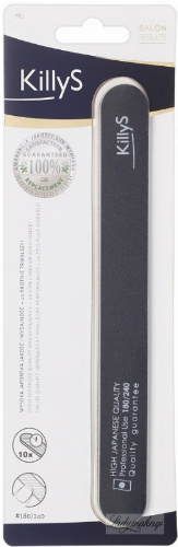 KillyS - Nail file 180/240 - STRAIGHT - Japanese quality - 783