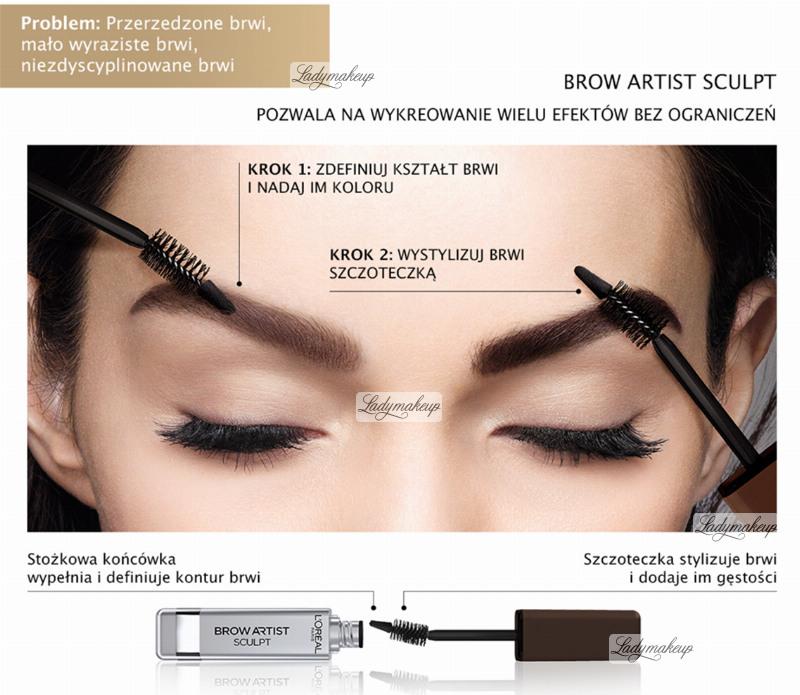 45a557788a8 L'Oréal - BROW ARTIST SCULPT - Shop 44.99 zł