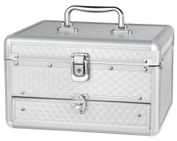 Inter-Vion - Make-up box - SILVER - 499244