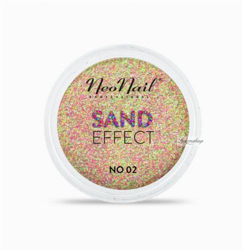 NeoNail - SAND EFFECT - Piaskowy pyłek do paznokci