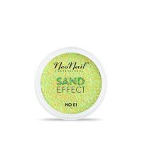 NeoNail - SAND EFFECT - Piaskowy pyłek do paznokci - 01 - 01