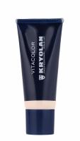 KRYOLAN - VITACOLOR - Cream Foundation With High Covering Powder - Mocno kryjący podkład - 40 ml - ART. 1021 - 1 W - 1 W