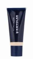 KRYOLAN - VITACOLOR - Cream Foundation With High Covering Powder - Mocno kryjący podkład - 40 ml - ART. 1021 - IVORY - IVORY