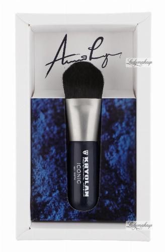 KRYOLAN - ICONIC BRUSH 2 - Syntetyczny pędzel do kosmetyków kremowych - ART. 9972