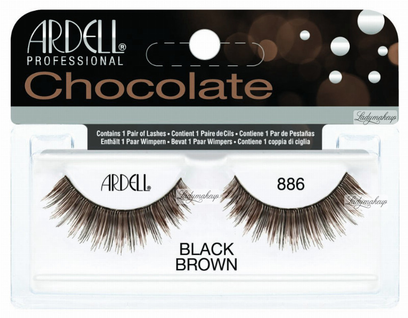 185c7b34d8a ARDELL - Chocolate Lashes - Black-brown lashes on strip