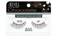ARDELL - Chocolate Lashes - Black-brown lashes on strip - 887 - 887