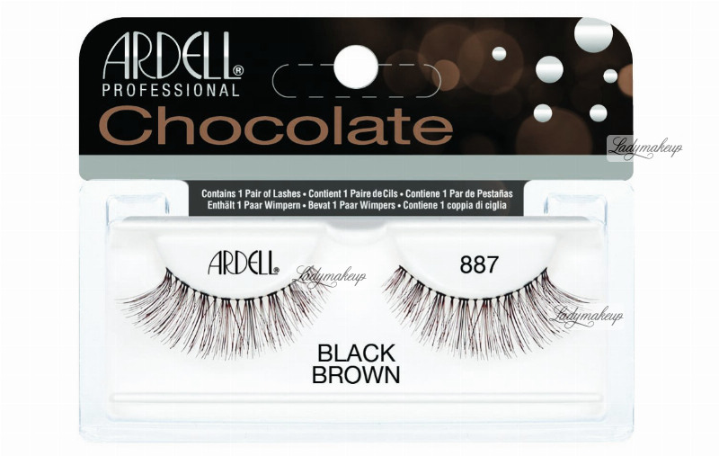 9e16e3d8456 ARDELL - Chocolate Lashes - Black-brown lashes on strip