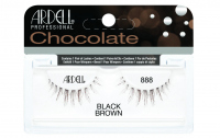 ARDELL - Chocolate Lashes - Black-brown lashes on strip - 888 - 888