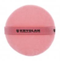 KRYOLAN - Premium Powder Puff Pink - 10 cm - ART. 1720