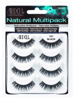 ARDELL - Natural Multipack - Set of 4 pairs of lashes on the strap - 101 DEMI BLACK - 101 DEMI BLACK
