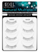 ARDELL - Natural Multipack - Set of 4 pairs of lashes on the strap - BABIES BLACK - BABIES BLACK