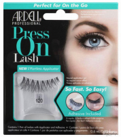 ARDELL - Press On Lashes - False eyelashes with applicator strip and adhesive - 120 - 120