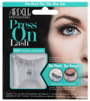 ARDELL - Press On Lashes - False eyelashes with applicator strip and adhesive - 110 - 110