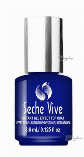 Seche - VIVE - INSTANT GEL EFFECT TOP COAT - Lakier nawierzchniowy nadający efekt żelowych paznokci - 3,6 ml