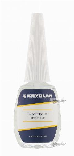 KRYOLAN - MASTIX P - SPIRIT GUM - Szybkoschnący, mocny klej do zarostów - 12 ml - ART. 6011