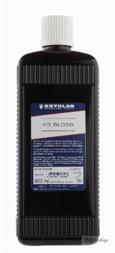 KRYOLAN - HD BLOOD - Realistyczna sztuczna krew HD - 500ml - ART. 4163