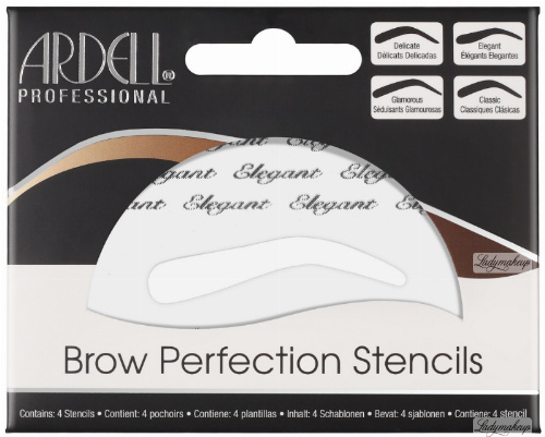 ARDELL - Brow Perfection Stencils - Szablony do brwi