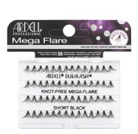 ARDELL - Mega Flare - Bold cluster lashes - 652799 - KNOT-FREE MEGA FLARE - SHORT BLACK - 652799 - KNOT-FREE MEGA FLARE - SHORT BLACK