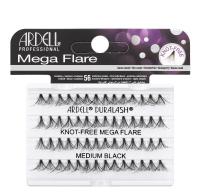 ARDELL - Mega Flare - Bold cluster lashes - 652805 - KNOT-FREE MEGA FLARE - MEDIUM BLACK - 652805 - KNOT-FREE MEGA FLARE - MEDIUM BLACK