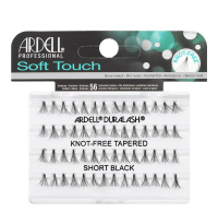 ARDELL - Soft Touch - Subtle lashes in clusters - 682833 - KNOT-FREE TAPERED - SHORT BLACK - 682833 - KNOT-FREE TAPERED - SHORT BLACK