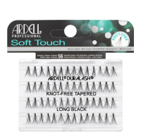 ARDELL - Soft Touch - Subtle lashes in clusters - 682857 - KNOT-FREE TAPERED - LONG BLACK - 682857 - KNOT-FREE TAPERED - LONG BLACK