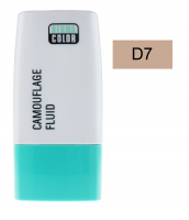 KRYOLAN - Dermacolor - Camouflage Fluid - Fluid wodoodporny - D 7 - D 7