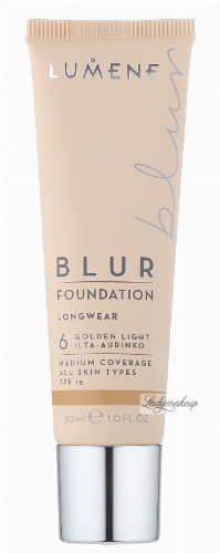 LUMENE - Longwear BLUR Foundation - Podkład wygładzający