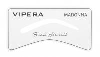 VIPERA - STENCIL KIT - SMOKY EYEBROW - Zestaw do stylizacji brwi