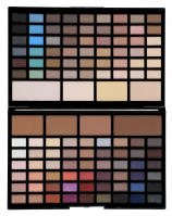 MAKEUP REVOLUTION - PRO HD - Eyes & Contour Palette - Paleta cieni do powiek oraz pudrów do konturowania twarzy