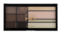 MAKEUP REVOLUTION - PRO HD BROWS - Paleta do stylizacji brwi