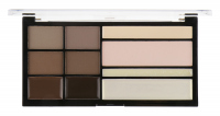 MAKEUP REVOLUTION - PRO HD BROWS - Eyebrow Styling Palette