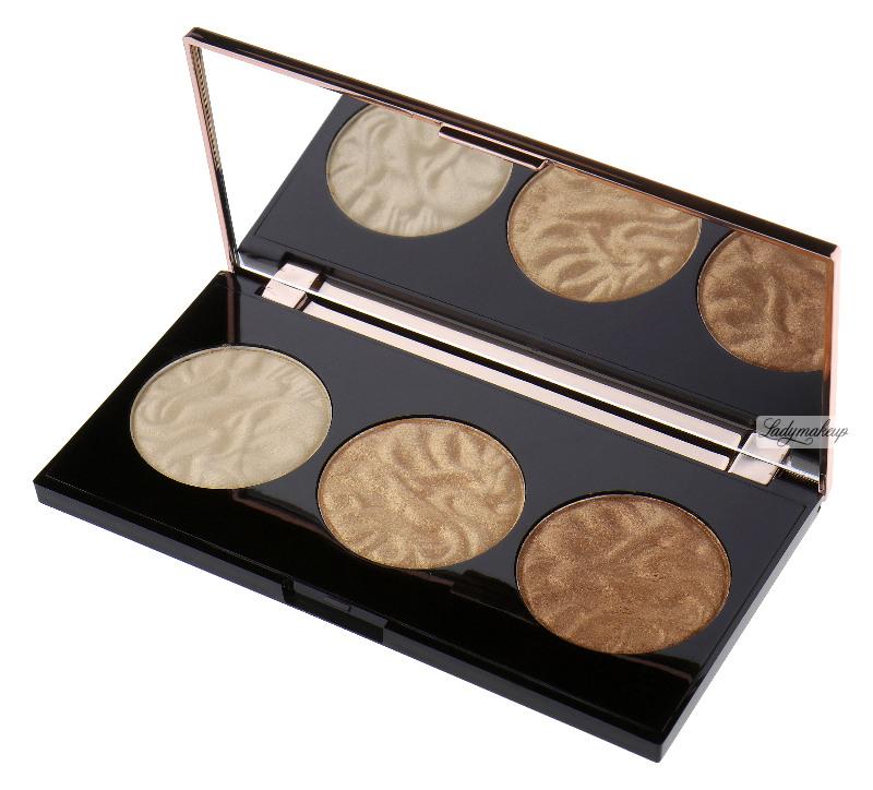 makeup revolution strobe luxe highlighting powder palette. Black Bedroom Furniture Sets. Home Design Ideas