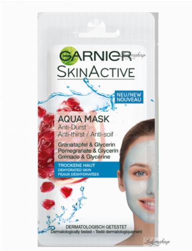 GARNIER - Skin Active - AQUA MASK - Nawilżająca maseczka do skóry odwodnionej