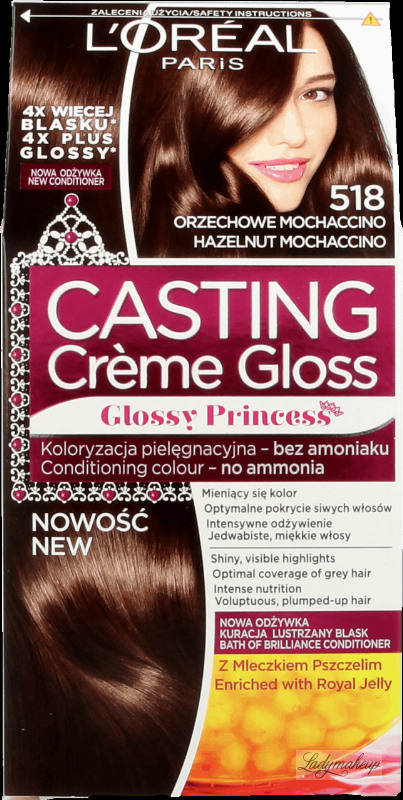 Oral Casting Crme Gloss Nourishing Without Ammonia 518