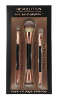 MAKEUP REVOLUTION - FLEX AND GO BRUSH SET