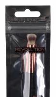 MAKEUP REVOLUTION - Brush Flex  - 04 EYE LIGHT&SHAPE - Dwustronny, elastyczny pędzel do cieni i rozświetlacza