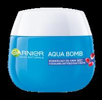 GARNIER - AQUA BOMB - Regenerujący żel-krem o działaniu antyoksydacyjnym na noc - Skóra odwodniona