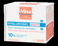 Mixa - HYALUROGEL - Intensywnie nawilżający krem z kwasem hialuronowym i gliceryną