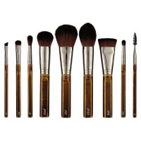 Nanshy - The Bare Necessities Collection - Zestaw 9 pędzli do makijażu + Kosmetyczka
