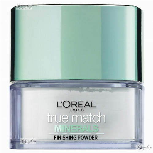 L'Oréal - True Match Minerals - MATTIFYING POWDER - Transparentny puder mineralny
