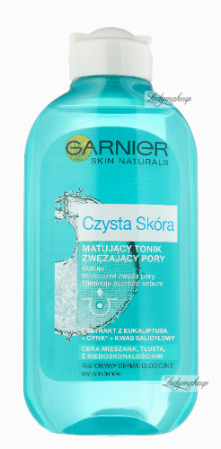 GARNIER - Pure Skin - Mattifying & Pore Tightening Toner
