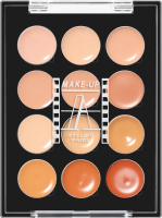 Make-Up Atelier Paris - PALETTE 12 CREAM CONCEALERS - P12C / A