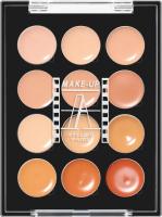 Make-Up Atelier Paris - PALETTE 12 CREAM CONCEALERS - P12C / A