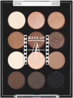 Make-Up Atelier Paris - PALETTE 12 EYESHADOW - P12C / ESN