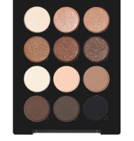 Make-Up Atelier Paris - PALETTE 12 EYESHADOW - Paleta 12 cieni do powiek - P12C/ESN