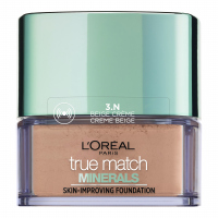 L'Oréal - True Match Minerals - SKIN-IMPROVING FOUNDATION - Puder mineralny