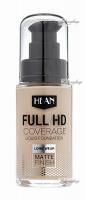 HEAN - FULL HD COVERAGE - Liquid Foundation - Lekki, matujący podkład do twarzy