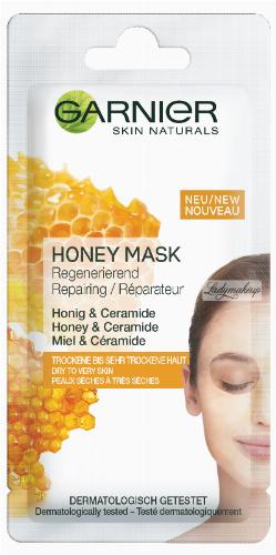 GARNIER - Skin Active - HONEY MASK - Odżywcza maseczka z miodem do skóry suchej i bardzo suchej