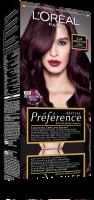 L'Oréal - Récital Préférence - Trwała, luksusowa koloryzacja - 4.26 MIDNIGHT PLUM