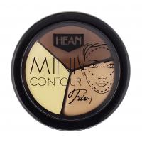 HEAN - MINI CONTOUR TRIO - Mini zestaw kremowych podkładów do konturowania twarzy